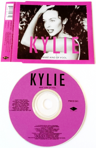Kylie Minogue ‎- What Kind Of Fool (CD Single) (VG+/EX)